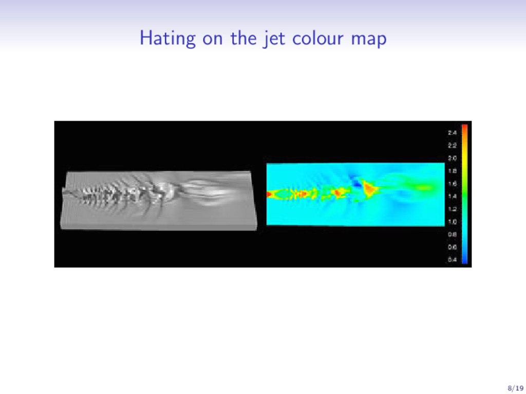 Hating on the jet colour map 8/19