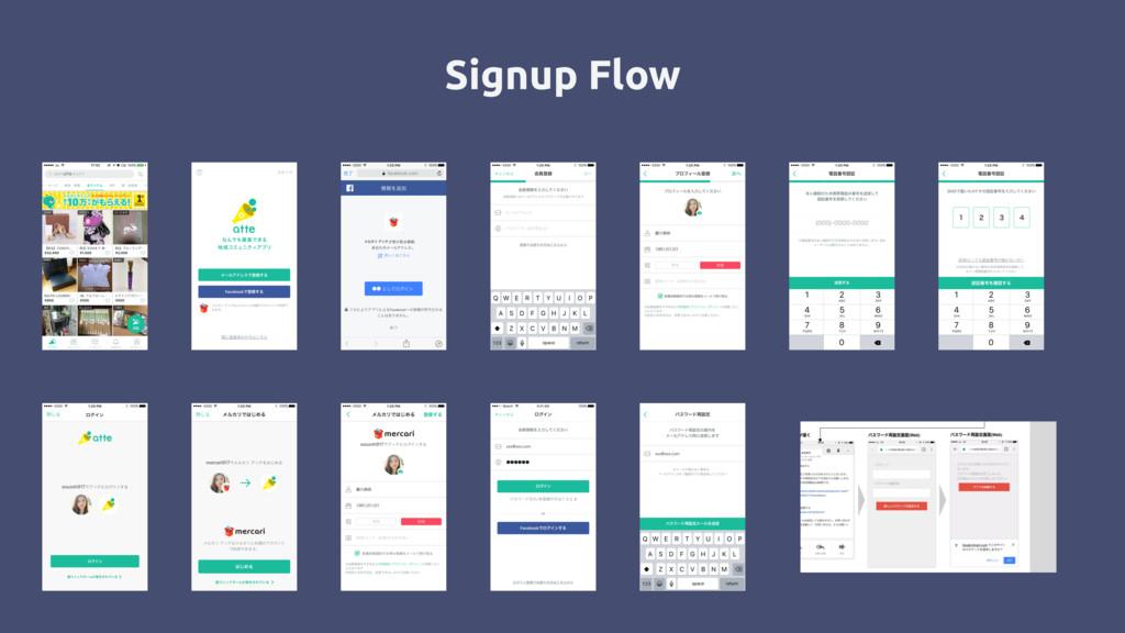 Signup Flow