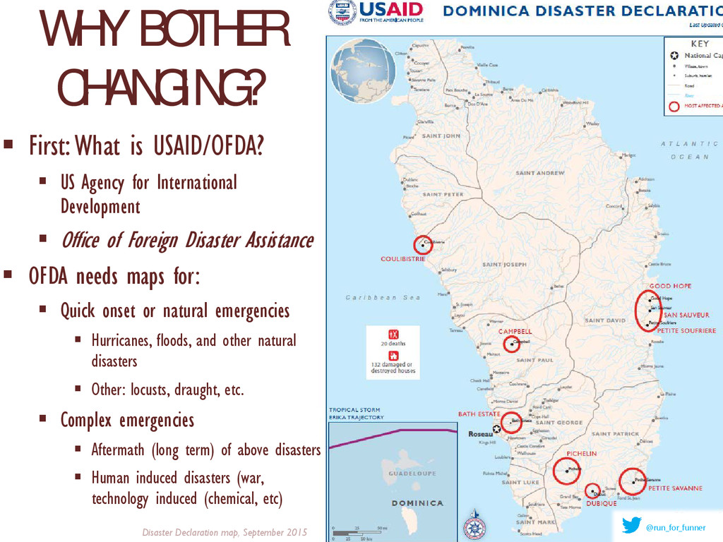 WHY BOTHER CHANGING?  First: What is USAID/OFD...