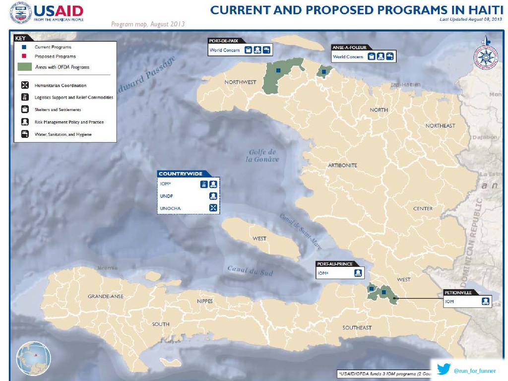 Program map, August 2013 @run_for_funner