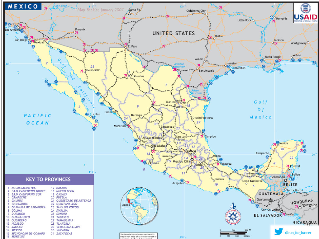 Map Booklet, January 2007 @run_for_funner