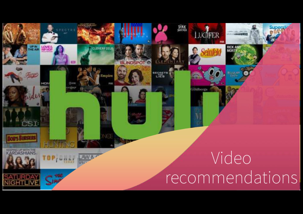 14 Video recommendations