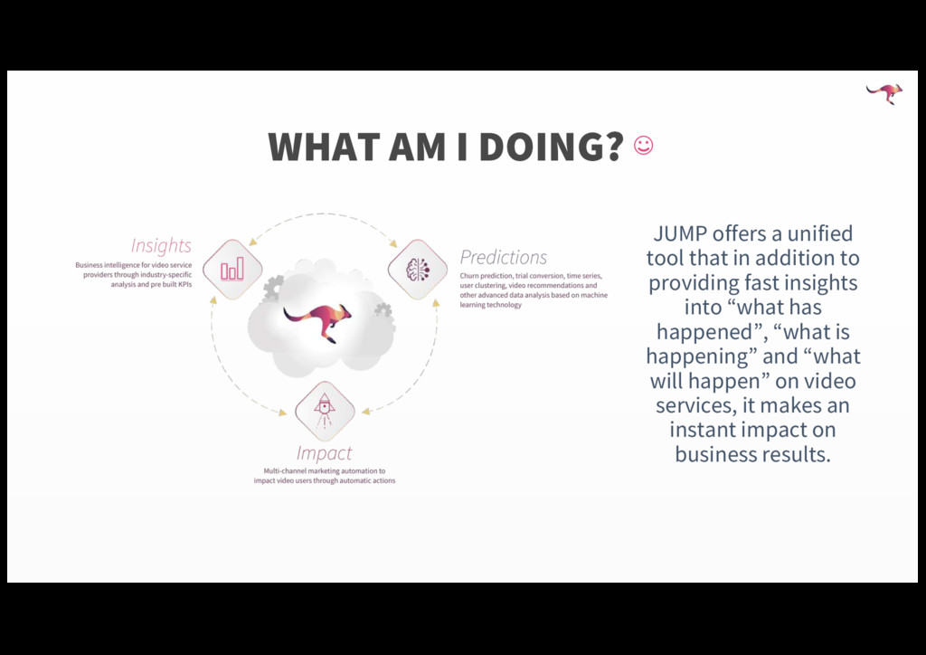 JUMP offers a unified tool that in addition to ...