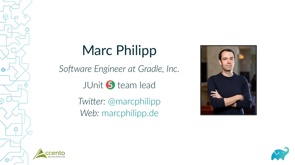 Marc Philipp So ware Engineer at Gradle, Inc. J...