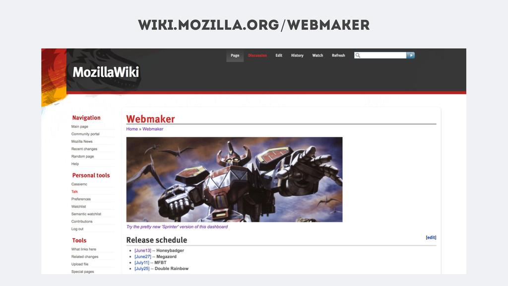 wiki.mozilla.org/webmaker