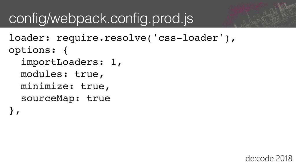 config/webpack.config.prod.js loader: require.r...