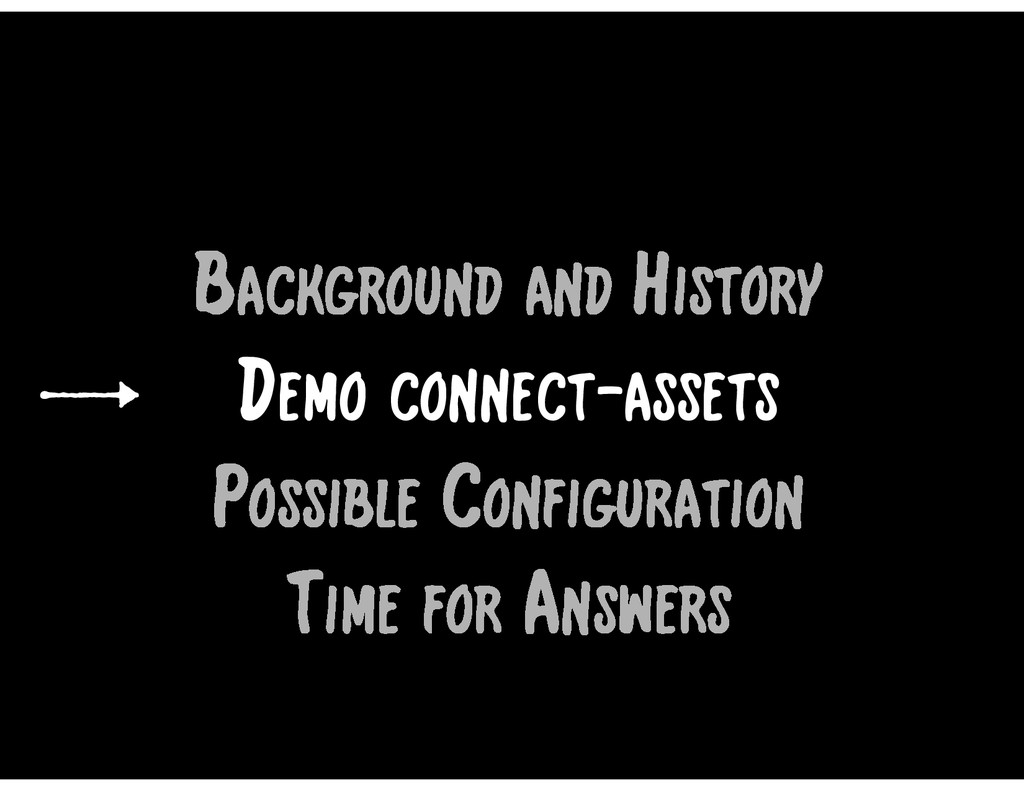 Time for Answers Background and History Demo co...