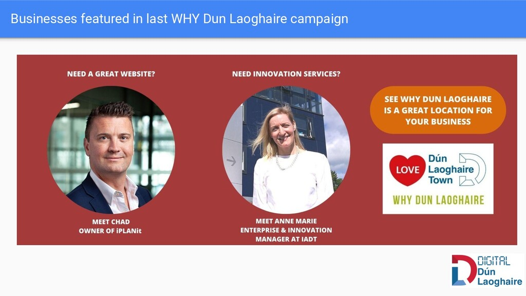 Businesses featured in last WHY Dun Laoghaire c...