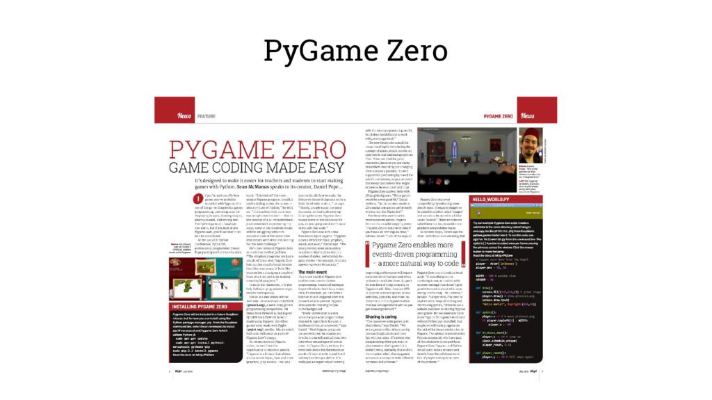 PyGame Zero