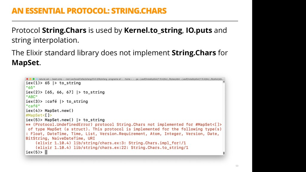 AN ESSENTIAL PROTOCOL: STRING.CHARS Protocol St...