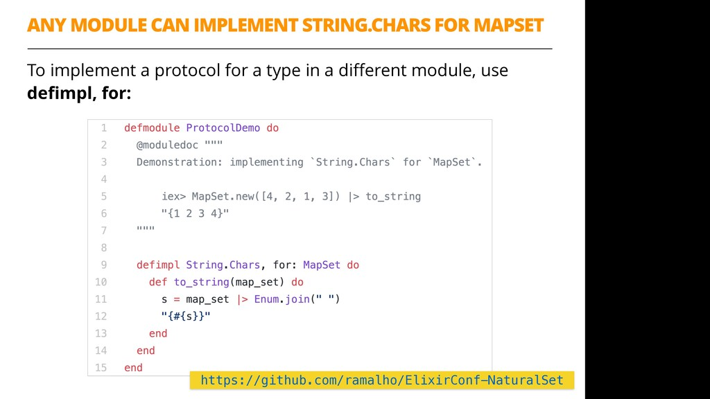 To implement a protocol for a type in a differen...