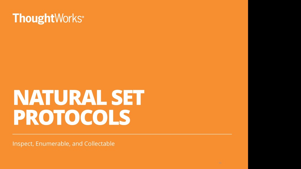 NATURAL SET PROTOCOLS Inspect, Enumerable, and ...