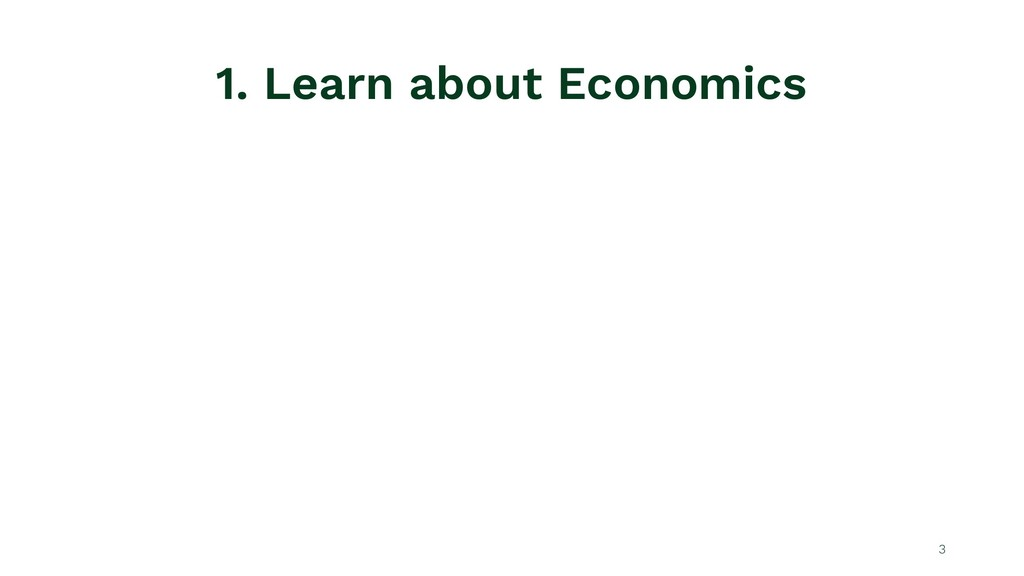 1. Learn about Economics 3