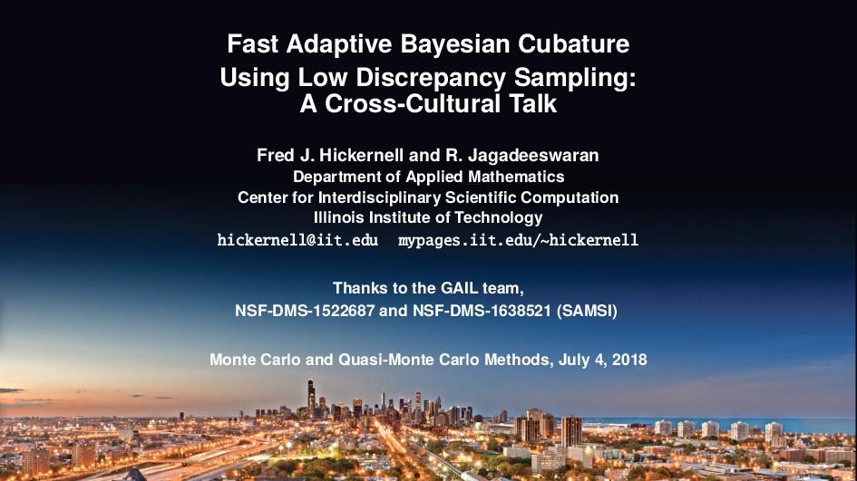 Fast Adaptive Bayesian Cubature Using Low Discr...