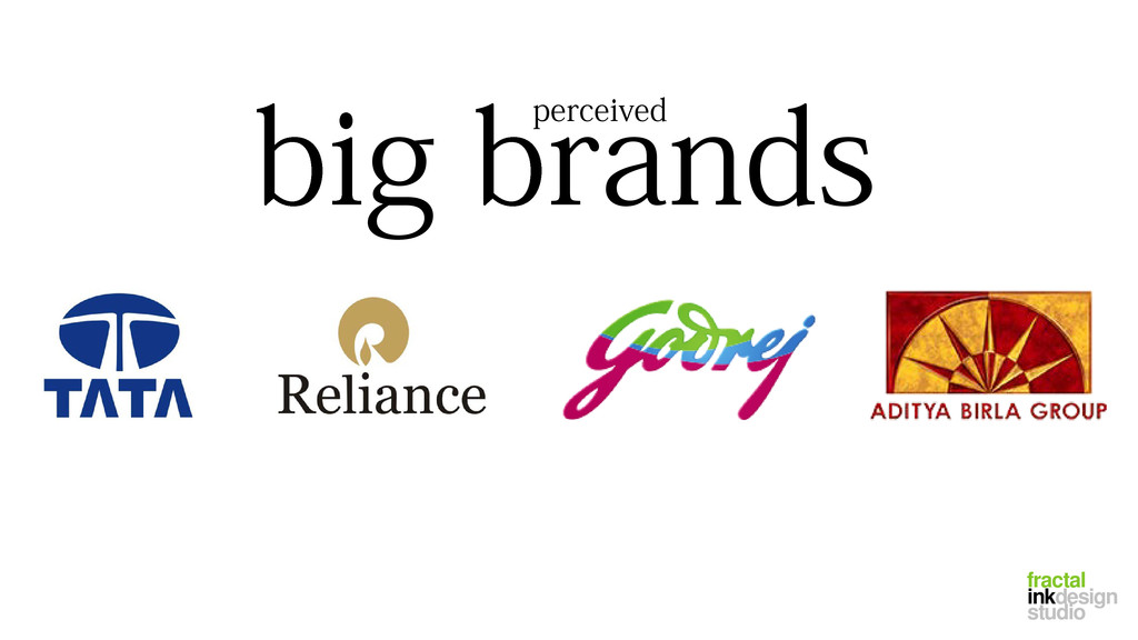 big brands perceived fractal inkdesign studio
