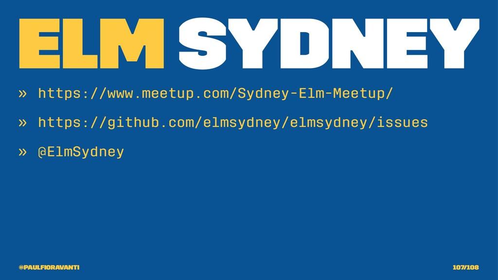 Elm Sydney » https://www.meetup.com/Sydney-Elm-...