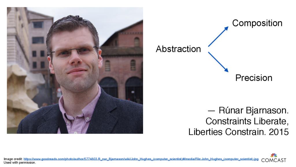 Abstraction Composition Precision — Rúnar Bjarn...