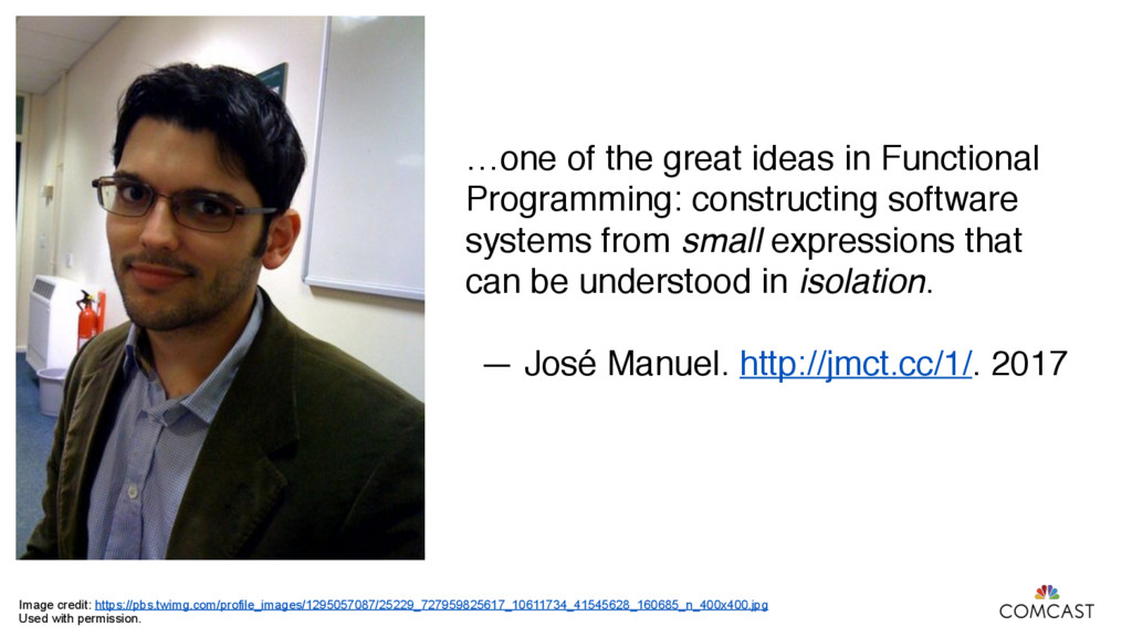 …one of the great ideas in Functional Programmi...