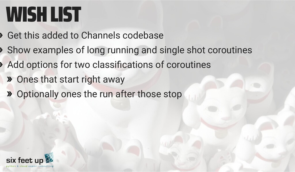 WISH LIST » Get this added to Channels codebase...