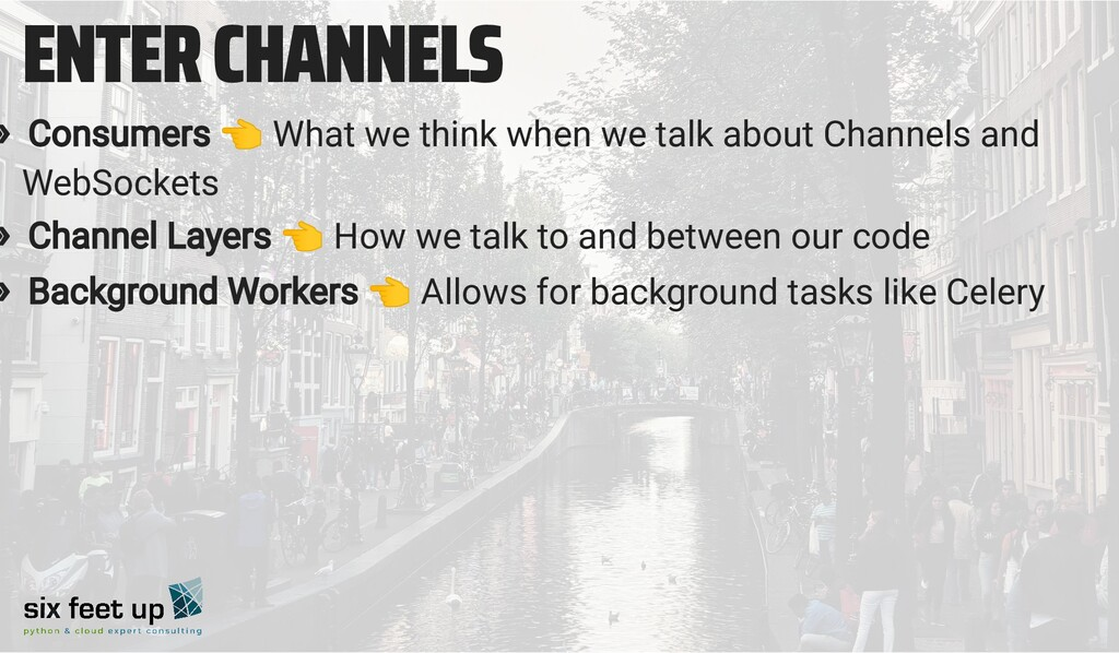 ENTER CHANNELS » Consumers 👈 What we think when...
