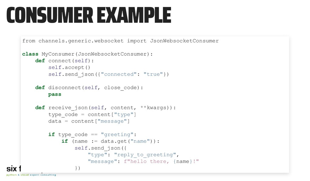 CONSUMER EXAMPLE from channels.generic.websocke...