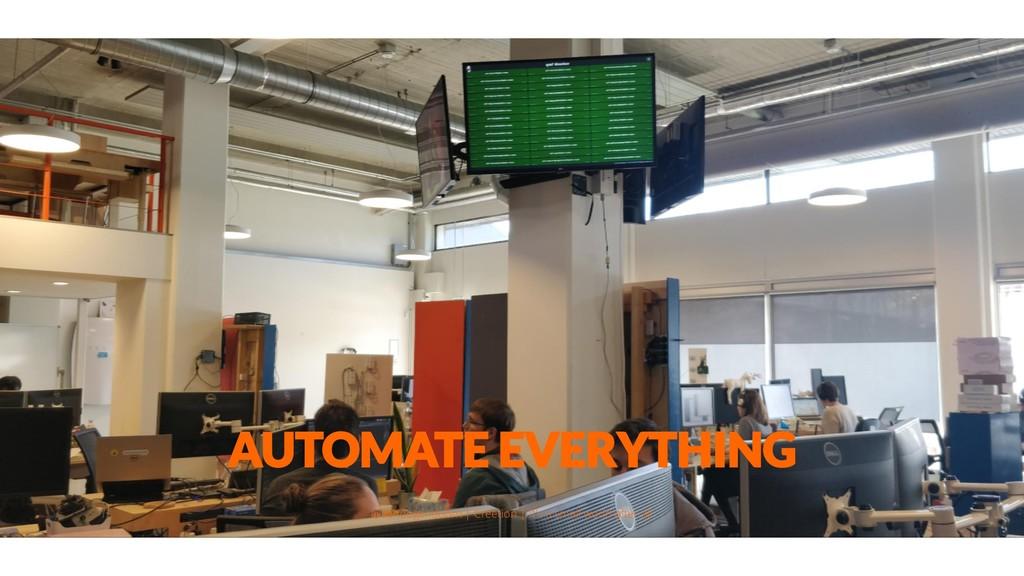 AUTOMATE EVERYTHING @aahoogendoorn | Creetion |...