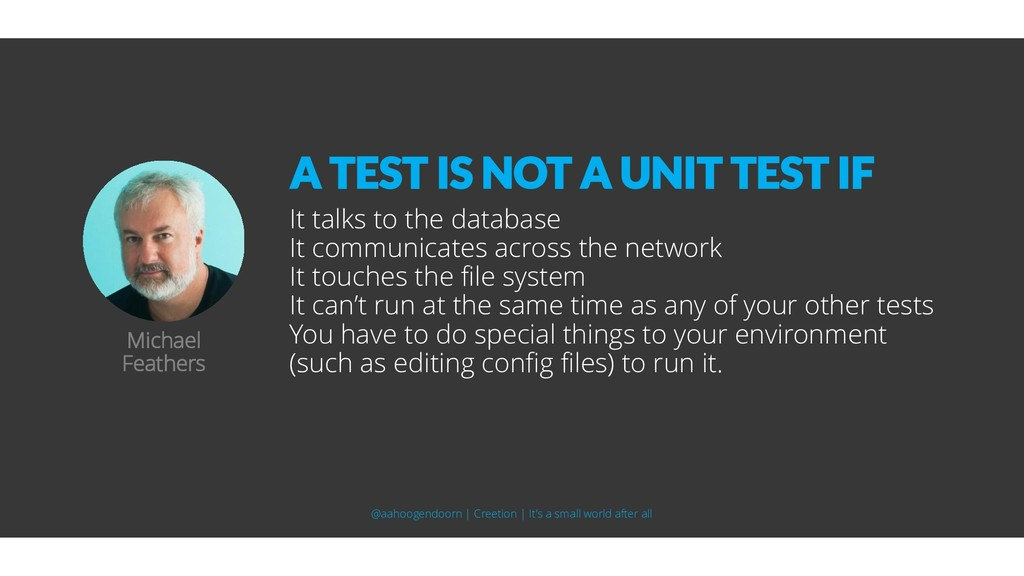 It talks to the database It communicates across...