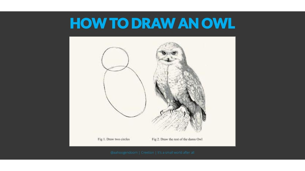 HOW TO DRAW AN OWL @aahoogendoorn | Creetion | ...