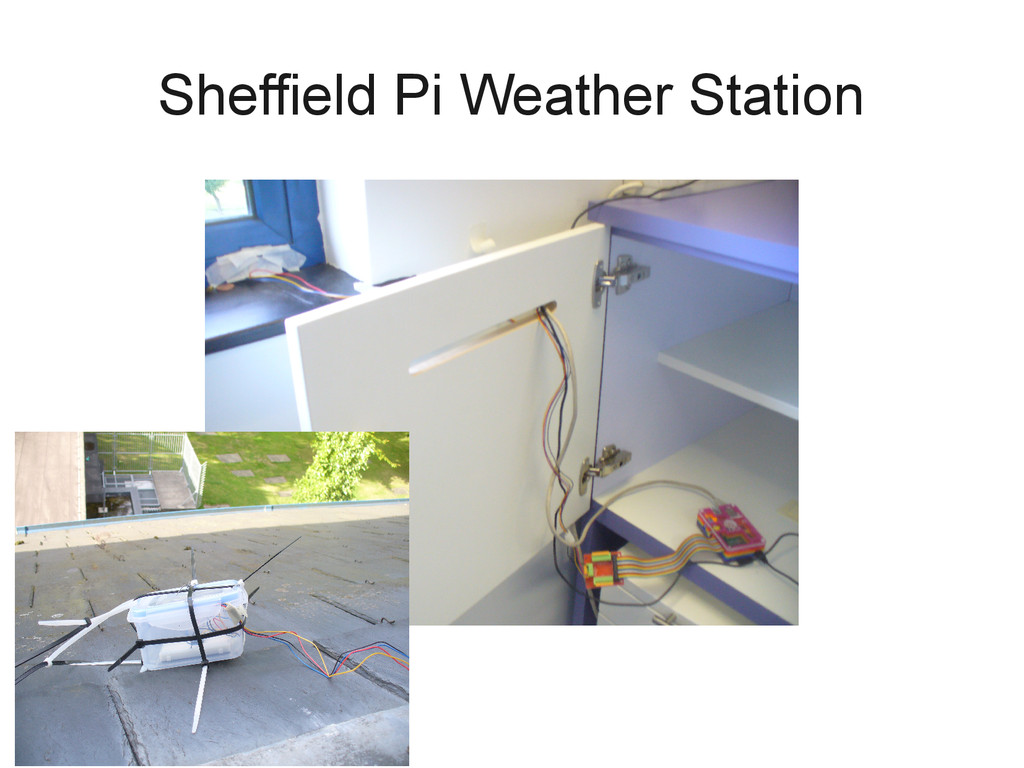 Sheffield Pi Weather Station