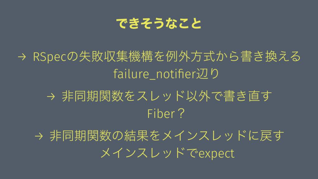 Ͱ͖ͦ͏ͳ͜ͱ → RSpecͷࣦഊऩूػߏΛྫ֎ํ͔ࣜΒॻ͖͑Δ failure_noti...