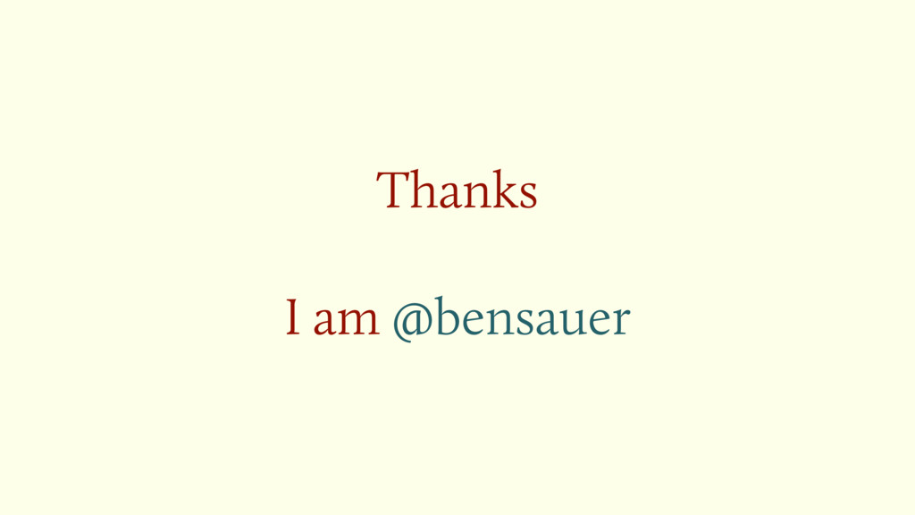 Thanks I am @bensauer