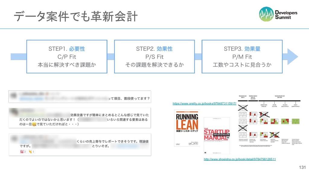 データ案件でも革新会計 131 https://www.oreilly.co.jp/books...