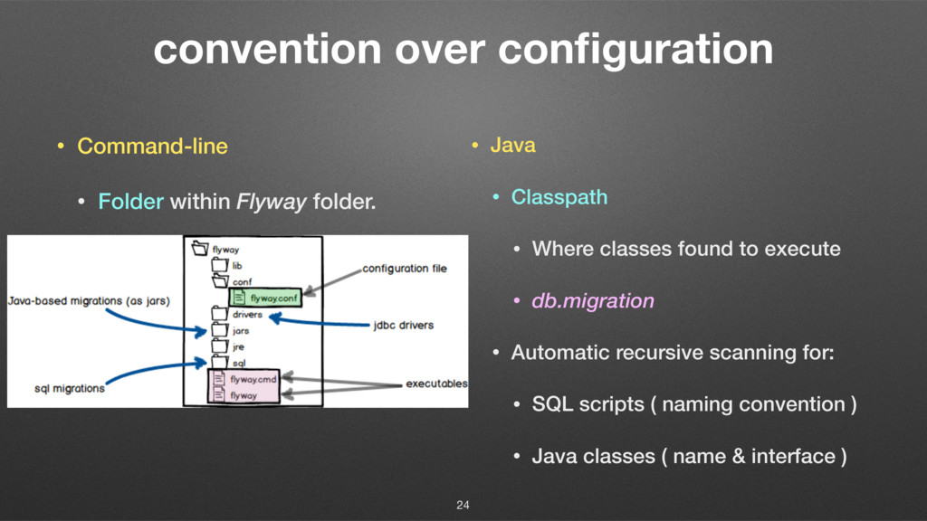convention over configuration • Command-line • F...