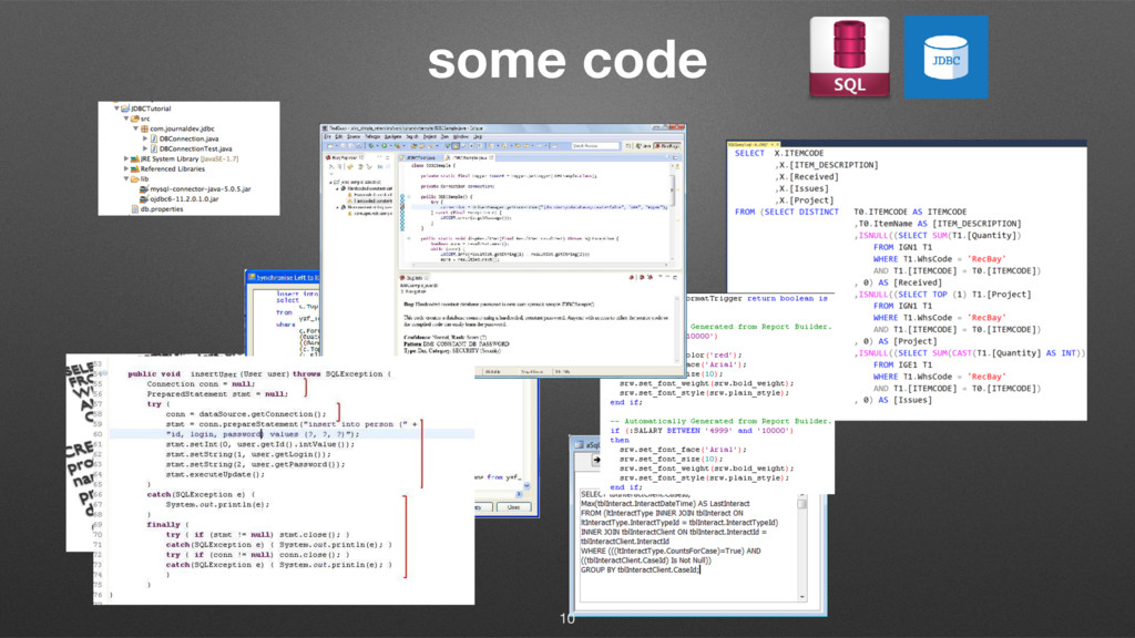 some code 10