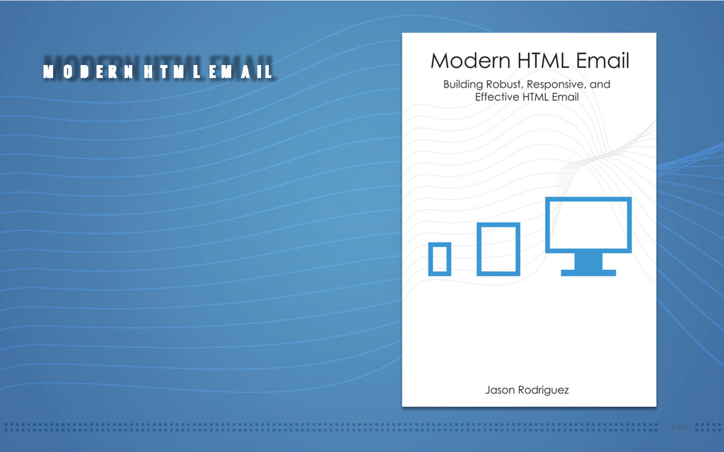 4/69 MODERN HTML EMAIL