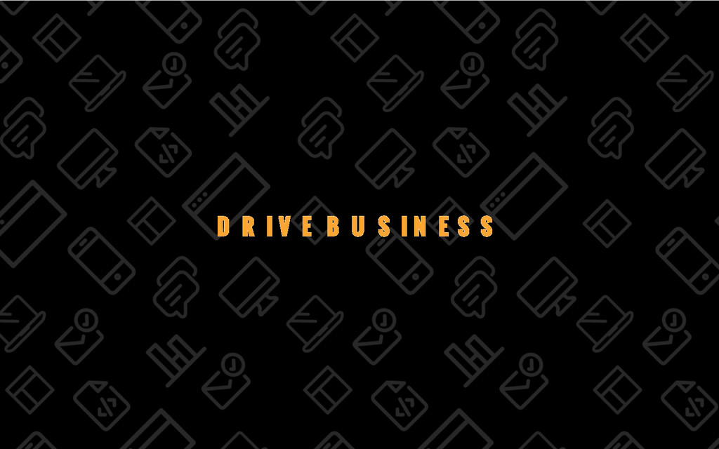 8/69 DRIVE BUSINESS
