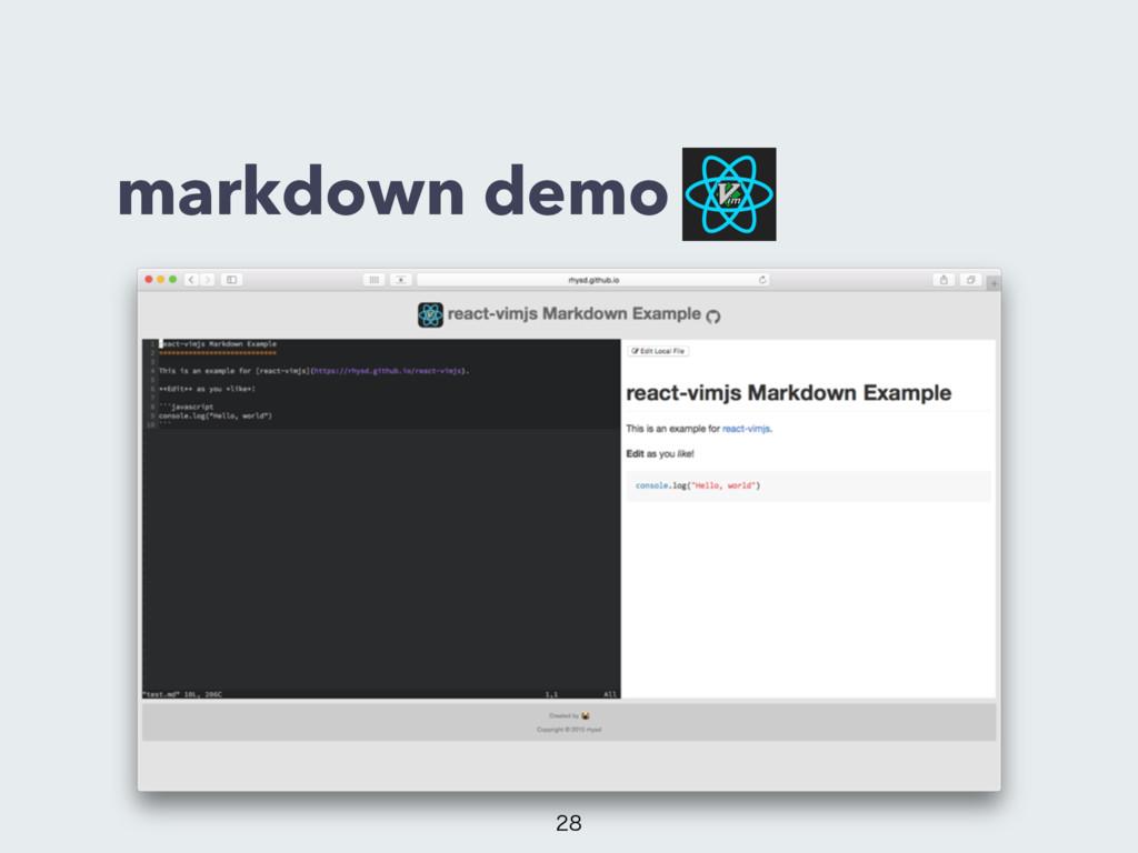 markdown demo
