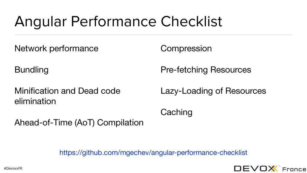 #DevoxxFR Angular Performance Checklist Network...