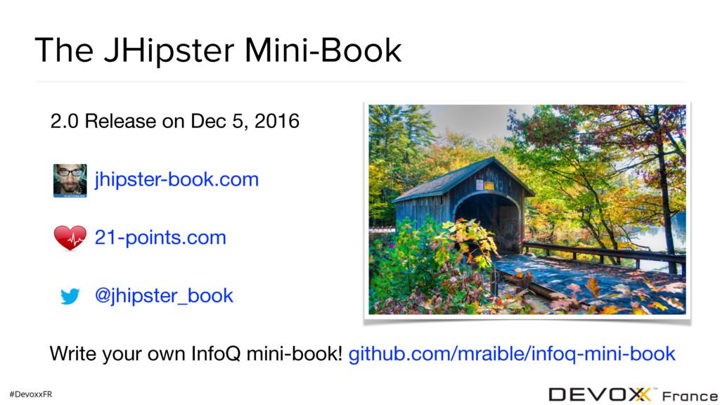 #DevoxxFR The JHipster Mini-Book 2.0 Release on...