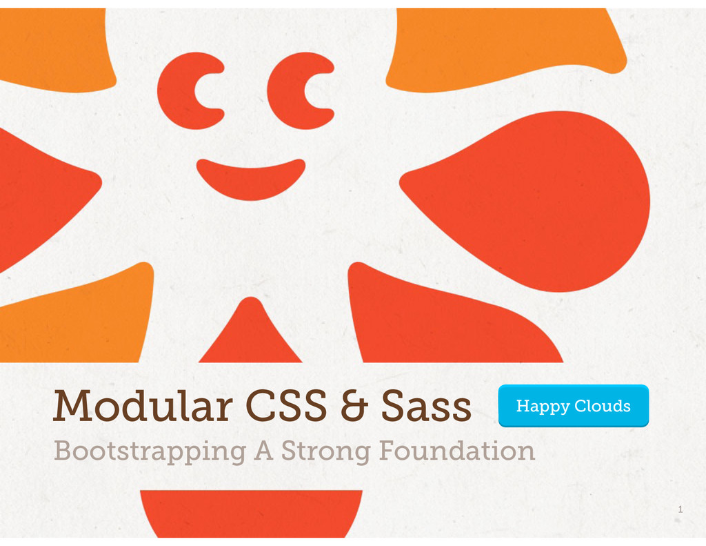 Bootstrapping A Strong Foundation Modular CSS &...