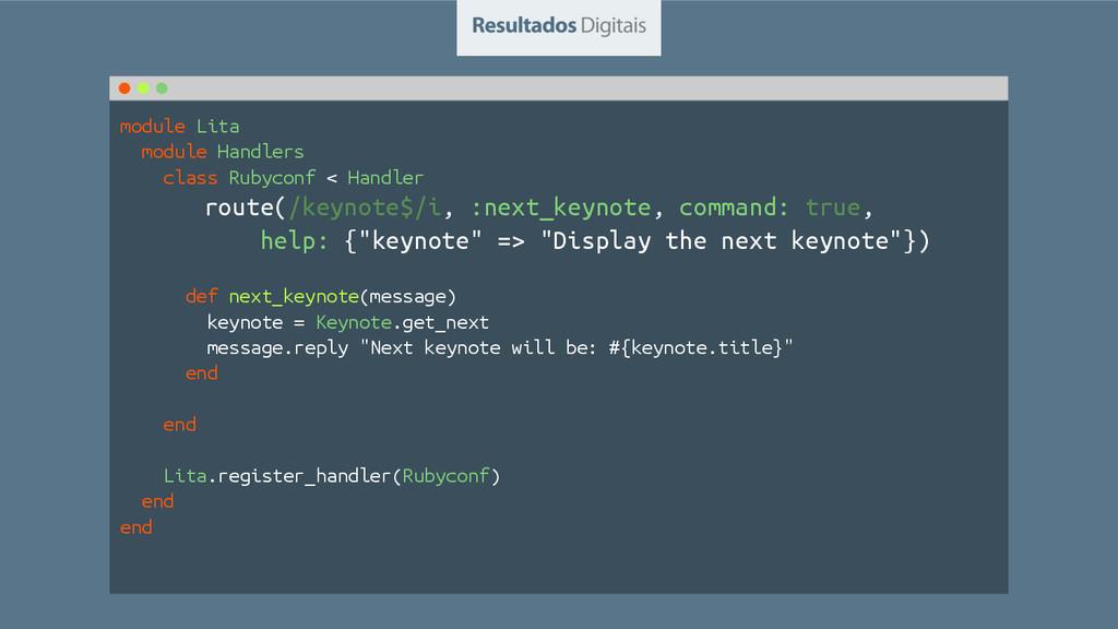 module Lita module Handlers class Rubyconf < Ha...
