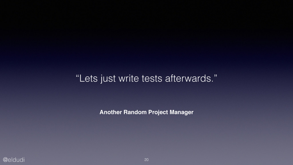 "@eldudi Another Random Project Manager ""Lets ju..."