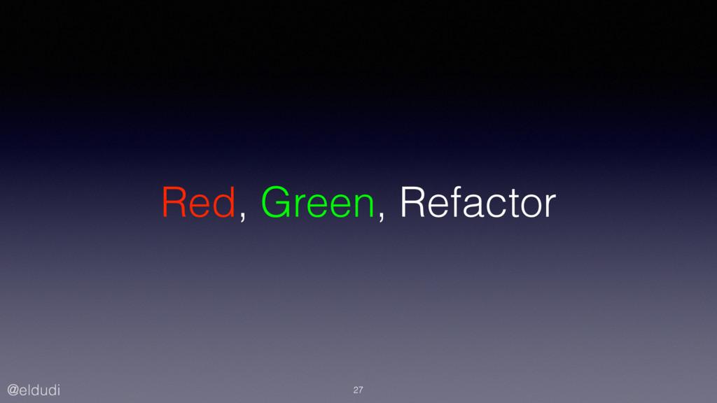@eldudi Red, Green, Refactor 27