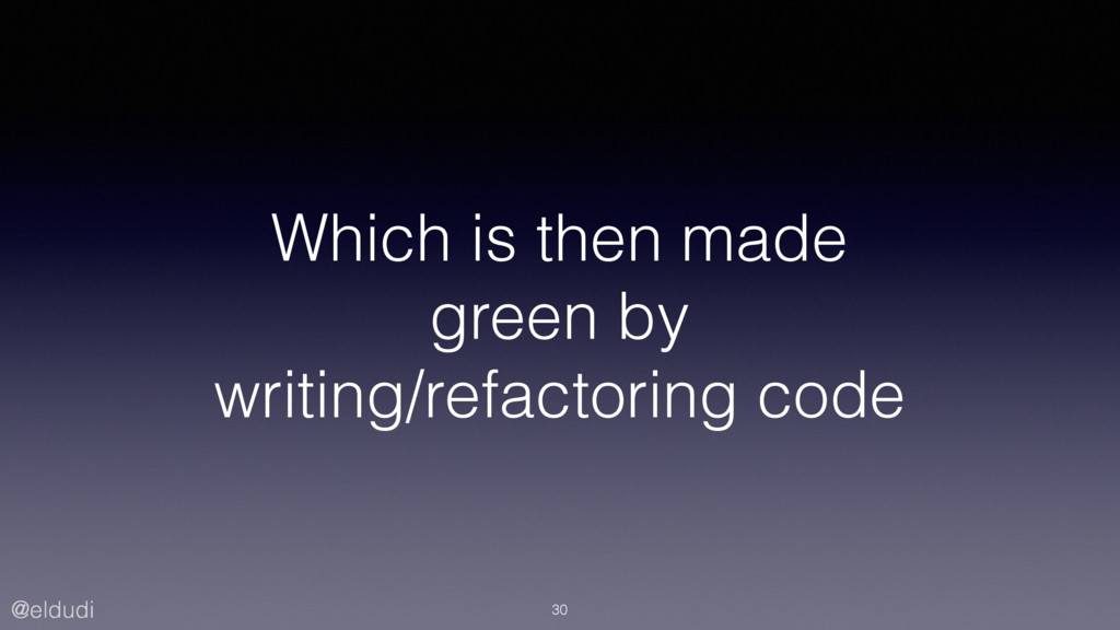 @eldudi Which is then made green by writing/ref...