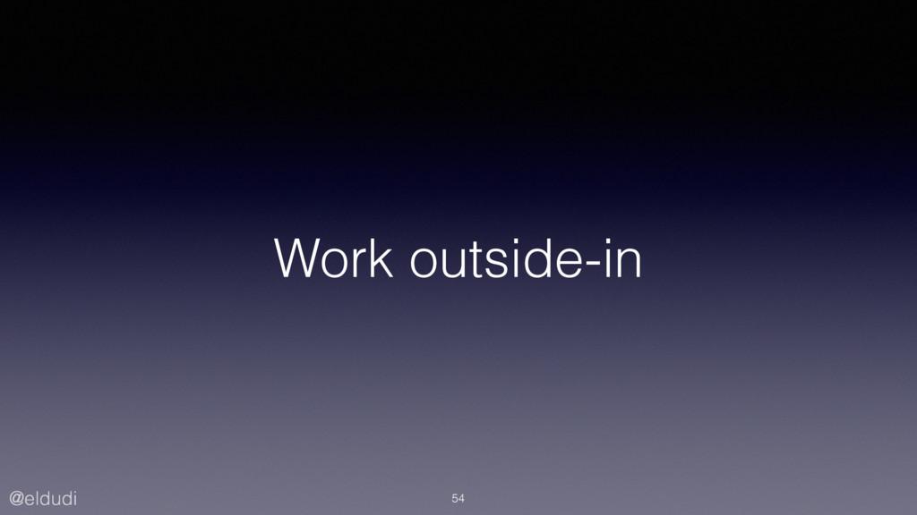 @eldudi Work outside-in 54
