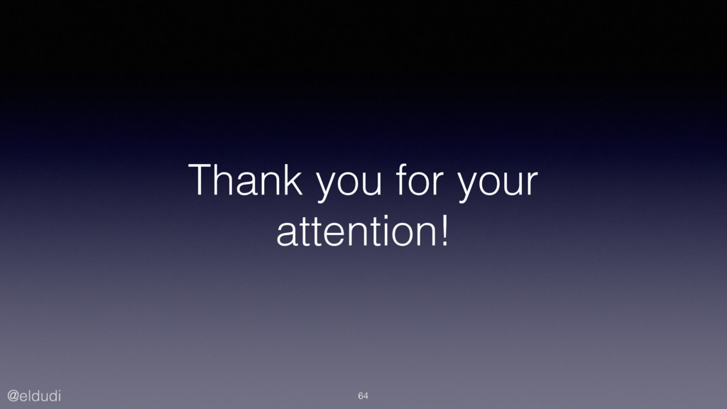 @eldudi Thank you for your attention! 64