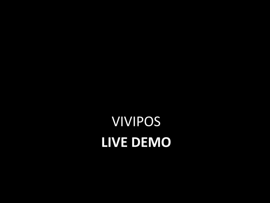 LIVE DEMO VIVIPOS
