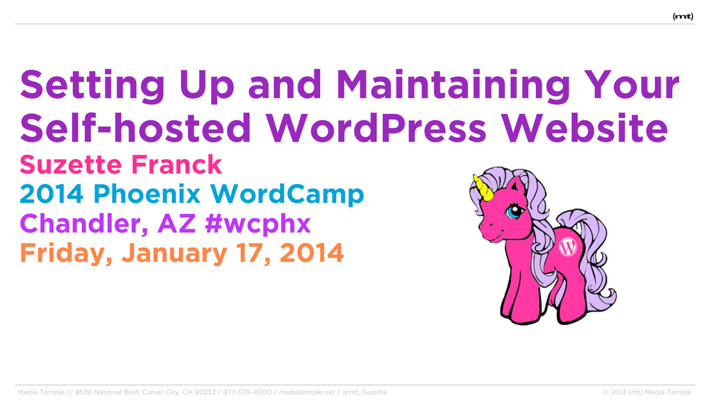 Setting Up and Maintaining Your Self-hosted Wor...