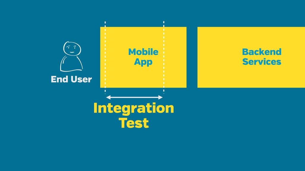 Mobile App End User Backend Services Integratio...