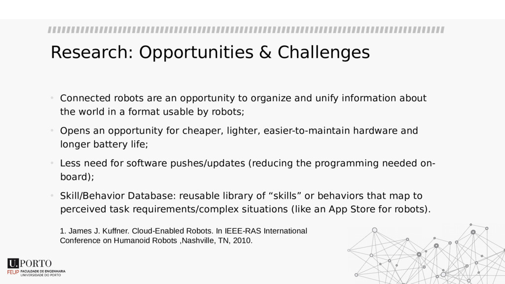 Research: Opportunities & Challenges • Connecte...